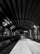 Zadaszony peron Dworca Letniego