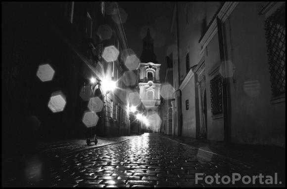 Deszczowa uliczka