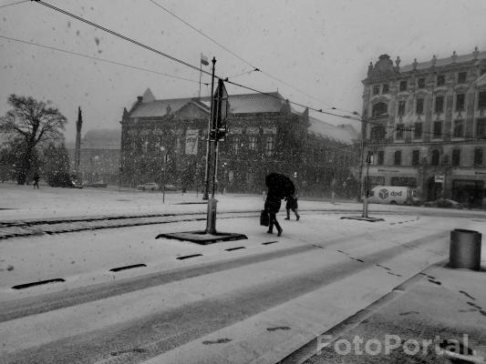 Śnieżno...