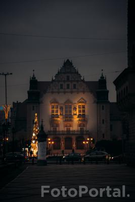 Collegium Minus w świątecznym blasku