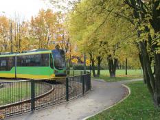 Jesienna pętla tramwajowa