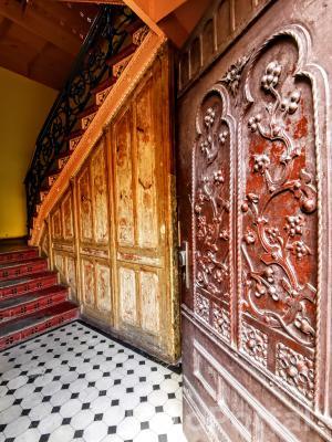 Drzwi a klatkę