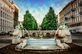 Al. Marcinkowskiego fontanna