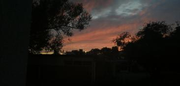 Winogradzki zachód słońca