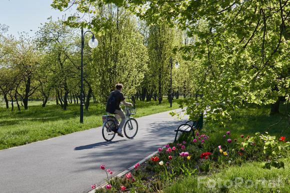 Rowerem po wiosennej Cytadeli