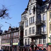 Kamieniczki na Dąbrowskiego
