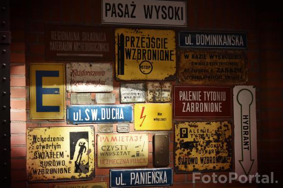Tabliczki w Starym Browarze