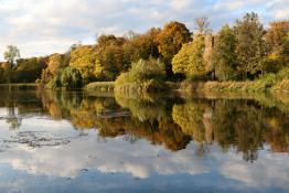 Październik w Parku Sołackim