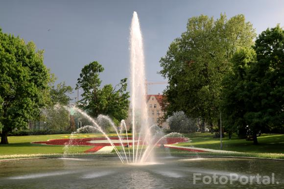 Fontanna w Parku Mickiewicza