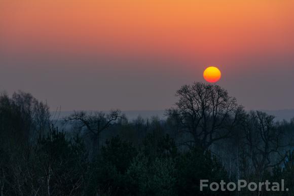 Wschód słońca nad Moraskiem