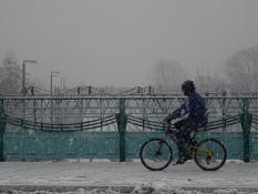 Śnieżyca. Most Teatralny