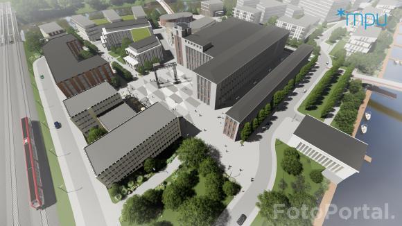 Elektrociepłownia Garbary. Autor: miejska pracownia urbanistyczna