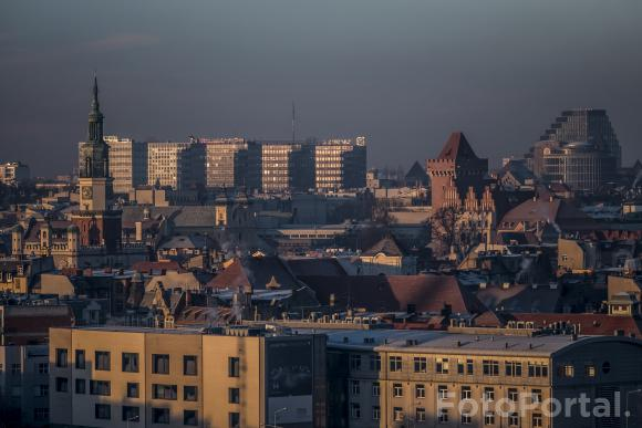 Poznań w słońcu