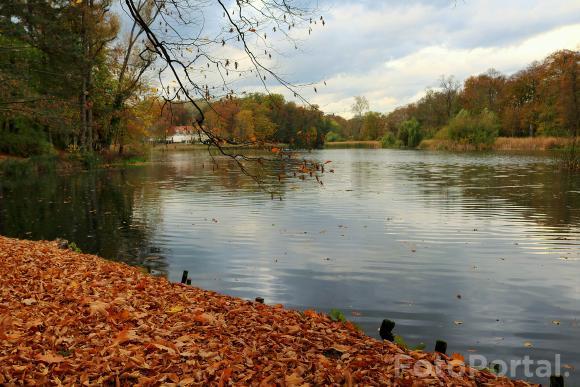 Październikowe popołudnie w Parku Sołackim