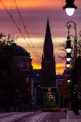 Wschód słońca na Fredry