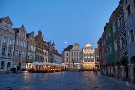 Letni wieczór na Starym Rynku