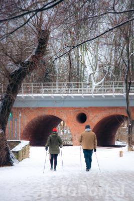 Zimowy spacer nad Rusałką