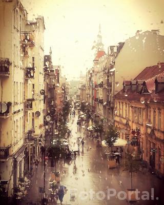Deszczowy Poznań