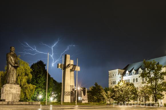 Burzowy Poznań | Plac Mickiewicza