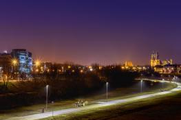 Widok z mostu Rocha na Katedrę