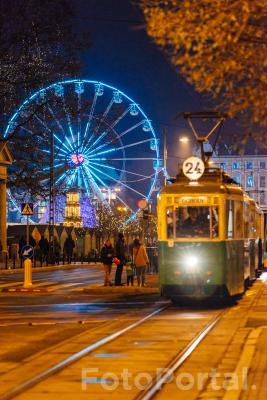 Jarmark świąteczny na placu Wolności