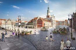 Rewitalizacja Starego Rynku. Autor: Firma Demiurg