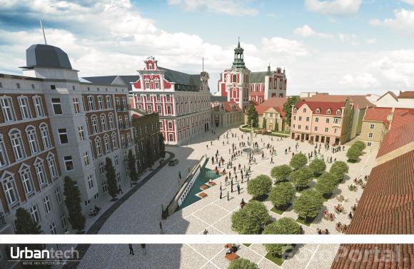 Rewitalizacja Placu Kolegiackiego. Autor: UrbanTech