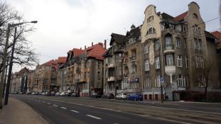 Kamienice na ul. Roosevelta Poznań