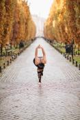 Jesienna joga na al. Marcinkowskiego