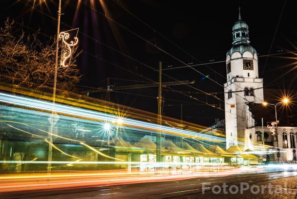 Rynek wildecki i tramwaj