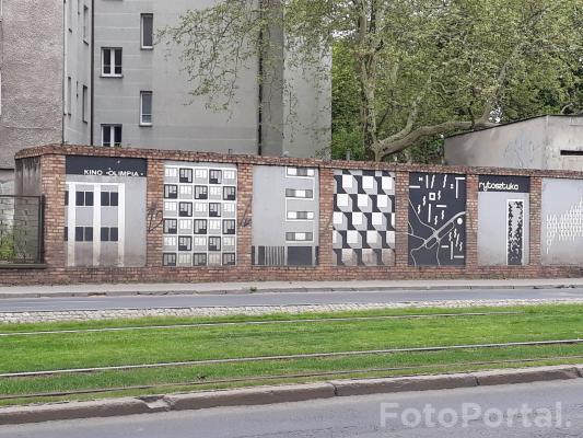 Mural na Grunwaldzkiej