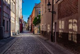 Poznań o poranku