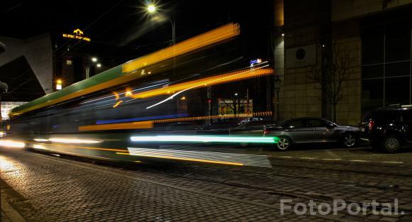 """,,Poznański tramwaj w prędkości światła"""""""