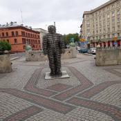 Golem na alejach Marcinkowskiego