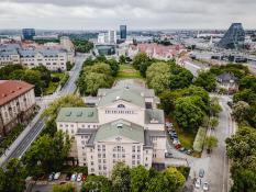 Opera i park Mickiewicza