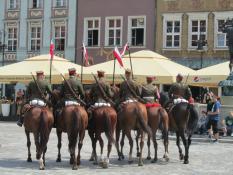 Ułani na koniach