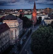 Collegium Maius oraz Kościół Najświętszego Zbawiciela  ul. Fredry w Poznaniu