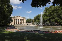 Park Adama Mickiewicza, ul. Fredry
