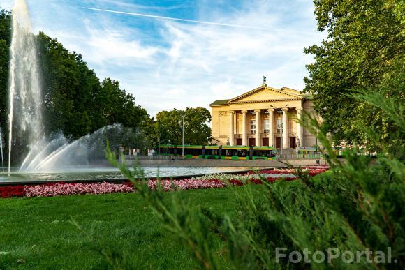 Popołudnie w parku Mickiewicza