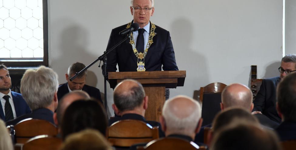 Uroczysta sesja Rady Miasta