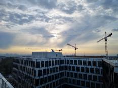 Nowy Rynek wschód słońca