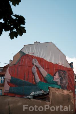 Mural jak żywy