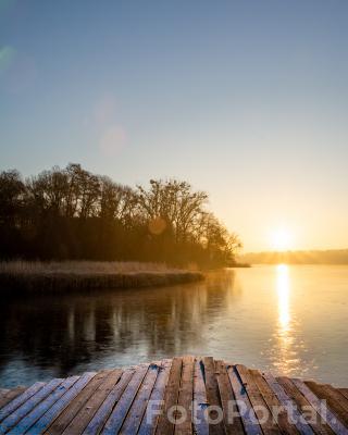 Wschód słońca nad Rusałką