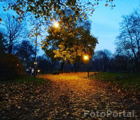 Cytadela wieczorową porą:)