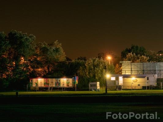 Poznań nocą