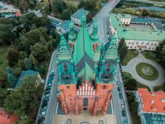 Katedra z lotu ptaka