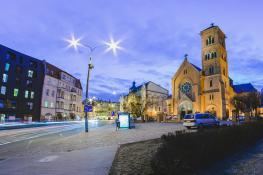 ul. Kościelna - Kościół św. Floriana