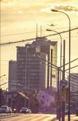 Zaopatrzone miasto w chmurach