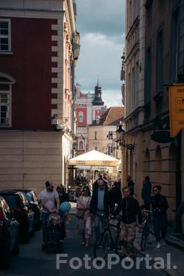 Rowerem przez Stare Miasto