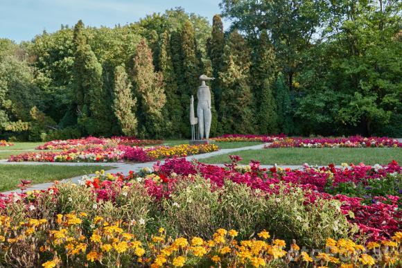 Kolorowy październik na Cytadeli